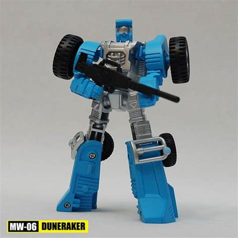 Robot Universe Warrior Biru 3301 06 transformers igear mini warriors mw 06 duneraker mw 07 veer toyarena