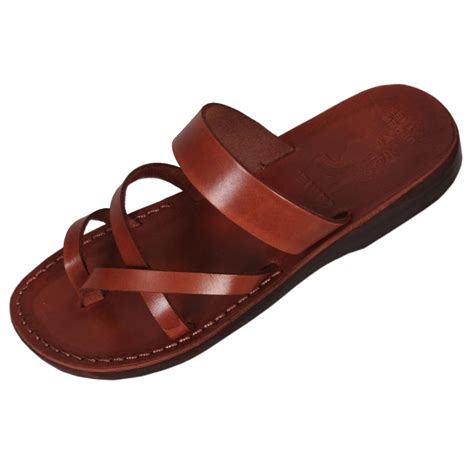 Handcrafted Sandals - handmade leather unisex sandals model 4 large jpg