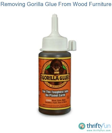 couch glue removing gorilla glue from wood furniture thriftyfun