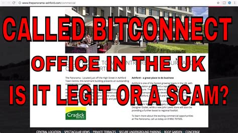 bitconnect headquarters we called bitconnect office in uk find out is it a real
