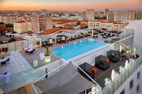 best lisbon hotels the best hotels in lisbon with rooftop pools