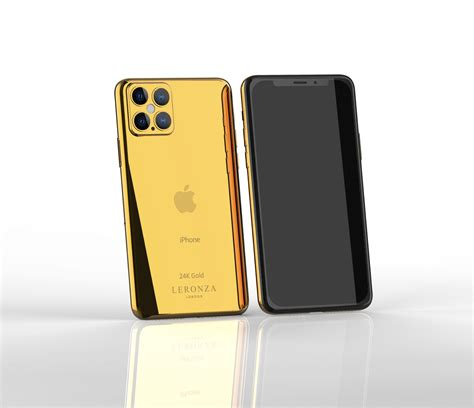 luxury  gold iphone  pro   pro max leronza