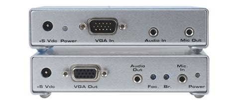 5 len an eine leitung studiokonzept medientechnik gmbh vga plus audio extender
