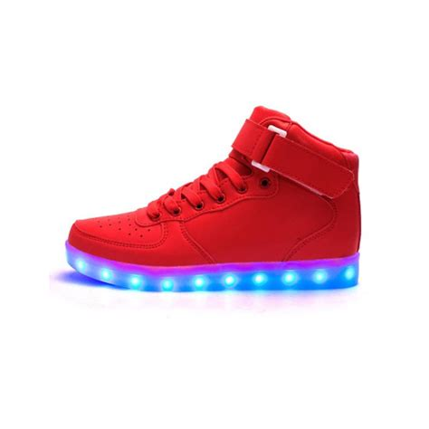 Shoes That Light Up by Light Up Shoes High Top Light Up Revolution