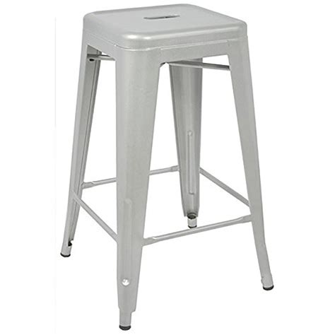 Tabouret 24 Inch Metal Counter Stools Set Of 2 by Tabouret 24 Inch Metal Counter Stools Set Of