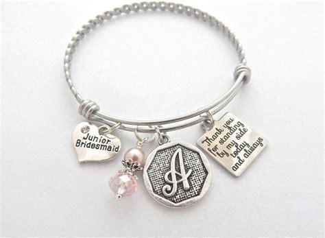 jr bridesmaids gift junior bridesmaid bracelet gifts for