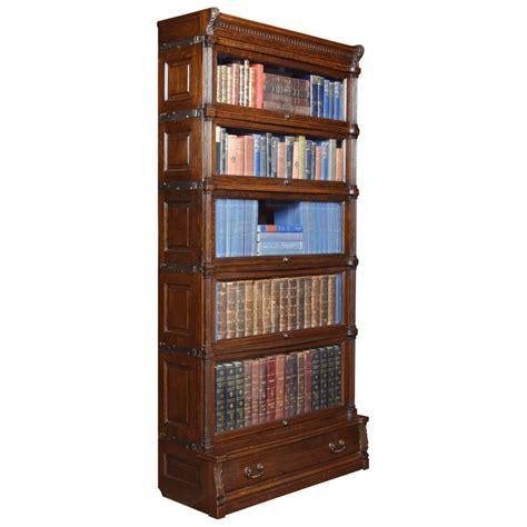 Globe Wernicke Sectional Bookcase by Oak Globe Wernicke Sectional Bookcase At 1stdibs