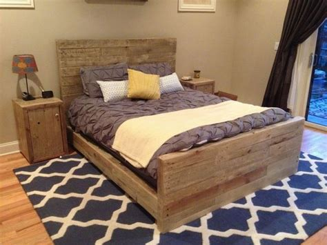 Diy Pallet Bed Your Own Creativity Ideas 101 Pallets Diy Bed Frame Creative Ideas For Original Bedroom Furniture