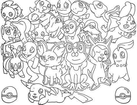 Galerry pokemon chimchar coloring page