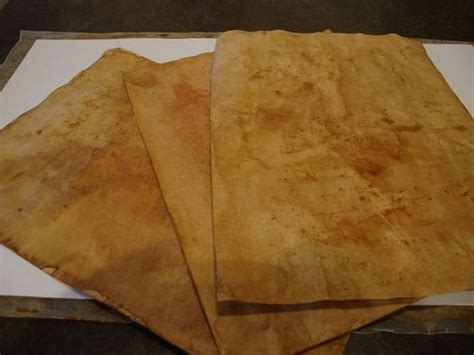 Make Antique Paper - make paper look diy projects craft ideas how to s