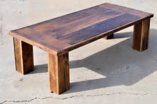 Barn Wood Coffee Table Reclaimed Oak Barn Wood Coffee Table The Herc By Dohlerdesigns