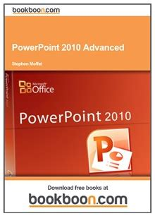 Free Pdf Books To Learn Ms Office 2010 Powerpoint 2010 Tutorial