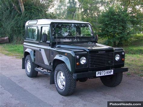 used land rover defender object moved