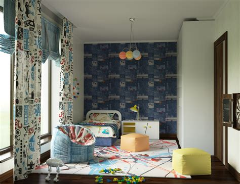 bed for 5 year old boy bedroom for a 5 years old boy design and visualization
