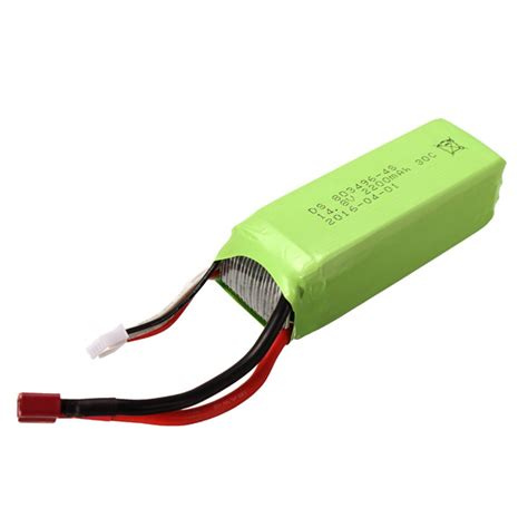 pursuit rc boat 6s feilun ft011 16 battery 14 8v 2200mah 30c 4s for ft011 rc