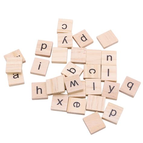 scrabble letters home decor 100pcs wooden alphabet scrabble tiles black letters crafts