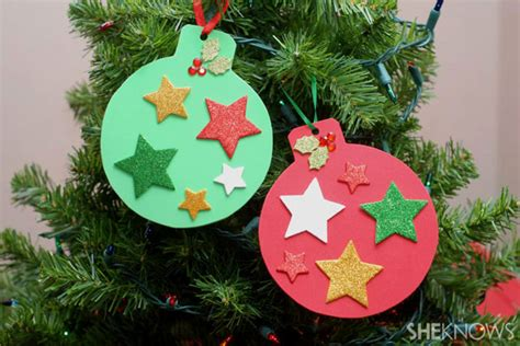 christmas decorations for children to make at home fun holiday crafts for your preschooler