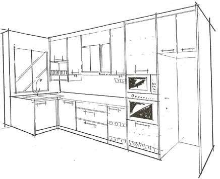 Kitchen Cabinet Layout Plans by L Shaped Garage Plans Smalltowndjs