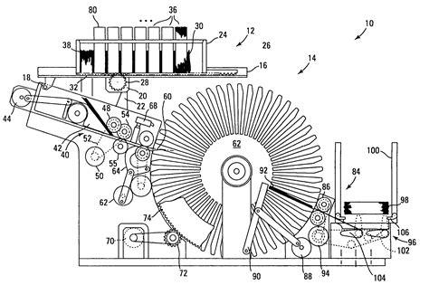 black jck card shuffler template patent us7584963 pre shuffler for a card