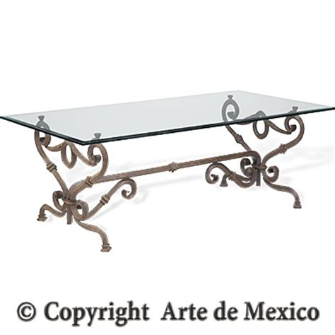 Arte De Mexico Furniture dt028 1 wrought iron dining table page