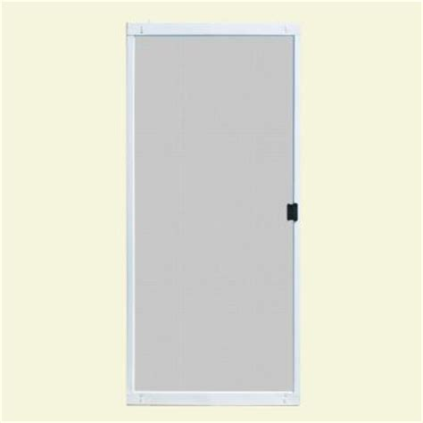 aluminum patio screen doors unique home designs 30 in x 80 in standard white metal
