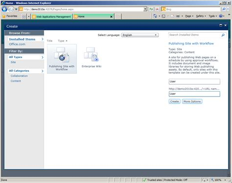 Anonymous Custom Root mixed anonymous and secure content with sharepoint 2010