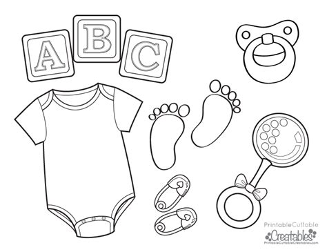 Baby Onesie Free Printable Coloring Page Free Baby Coloring Pages