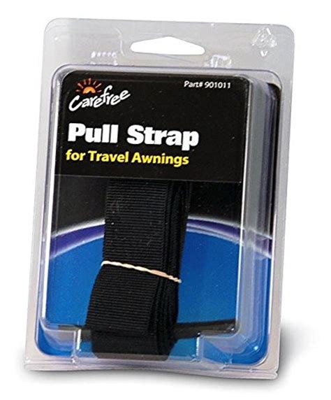 rv awning pull strap replacement carefree 901011 black 93 quot rv travel awning replacement