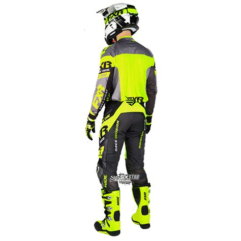 Snail Mx 37 Stabilo Revo 2018 fxr racing revo mx jersey black yellow sixstar racing