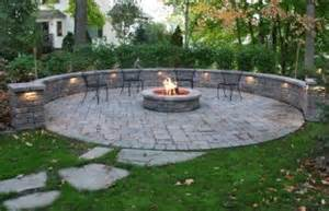 Indoor Gas Fire Pits - retaining walls amp paver patio privacy wall stone surface rockford mi