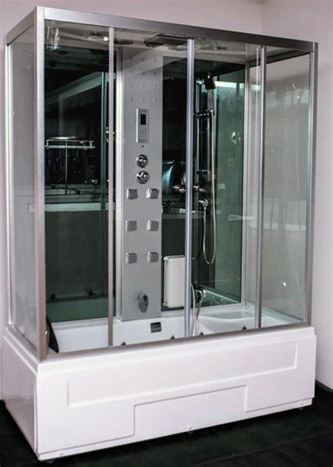 box doccia vasca idromassaggio box doccia combinato jass con vasca idromassaggio e bagno