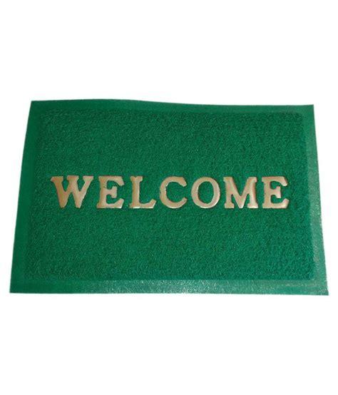 Buy Welcome Mat Door Mat Green Cotton Schenelle Ethnic Floor Mat Buy