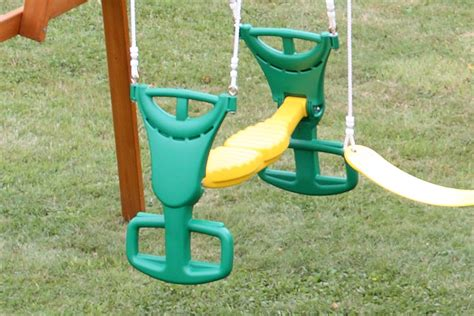 glider for wooden swing set selwood glider makes the perfect accessory for climbing frame