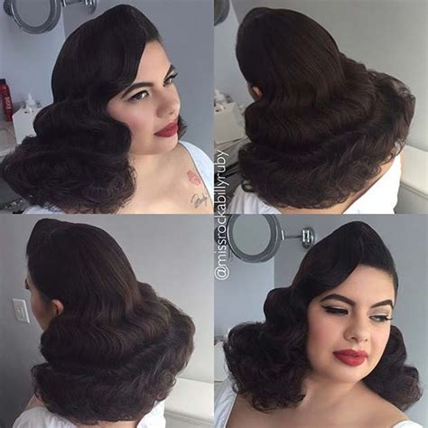 Bridal Pin Up Hairstyles by 21 Pin Up Hairstyles That Are Right Now Stayglam