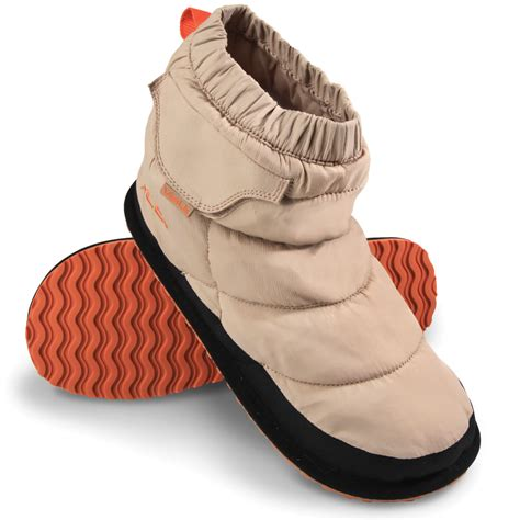 heated slippers the s rechargeable heated slippers hammacher schlemmer