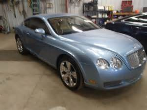damaged bentley for sale salvage 2007 bentley continenta for sale