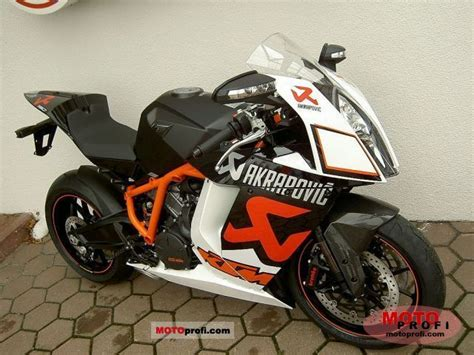 Ktm Rc8 1190 Specs Ktm 1190 Rc8 R Akrapovic 2011 Specs And Photos
