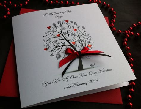 Valentines Handmade Cards - handmade s day cards buy on line same day