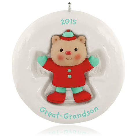2015 quot grandson quot hallmark 2015 great grandson hallmark keepsake ornament hooked on hallmark ornaments