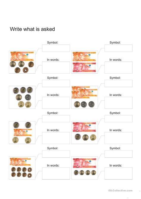 worksheets for grade 1 math philippine money