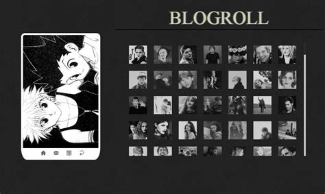 tumblr blogroll themes themes by mandrakescry