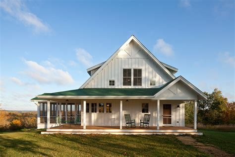 american farmhouse american farmhouse wraparound with rocking chairs exterior