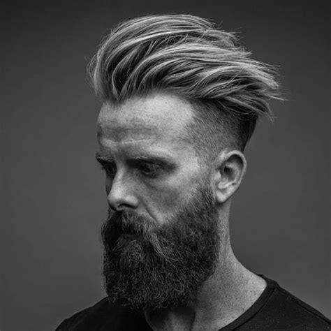 undercut pomp how long does it take to grow a beard
