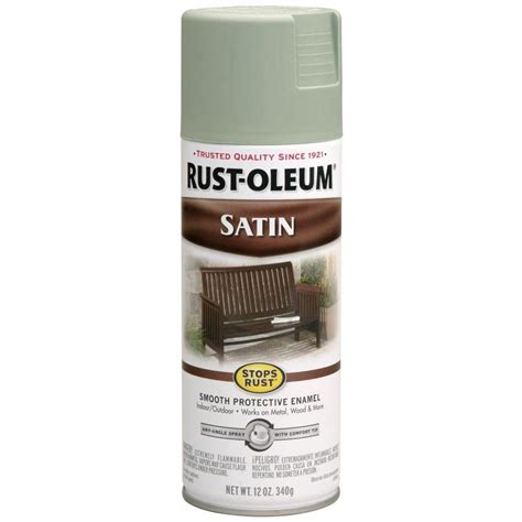 shop rust oleum 12 oz satin spray paint at lowes