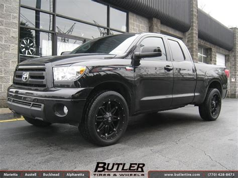 how it works cars 2009 mitsubishi tundra instrument cluster toyota tundra with 22in fuel hostage wheels exclusively from butler tires and wheels in atlanta