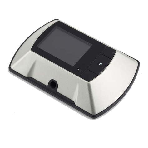 Door Peephole Wifi 2 4 quot lcd visual monitor digital door viewer doorbell peep wireless door peephole viewer