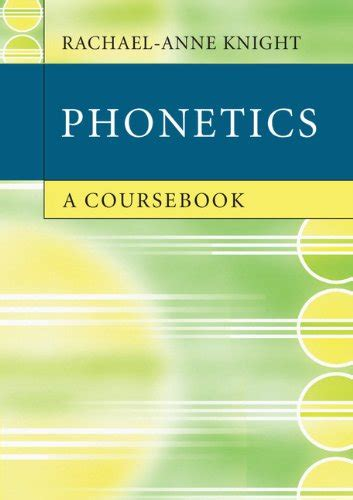 phonetics a coursebook avaxhome