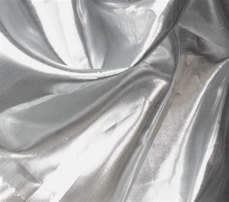 shiny silver metallic fabric shiny tissue lame silver white at joann com