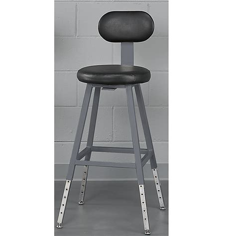 relius solutions adjustable height shop stool 19 1 2 33
