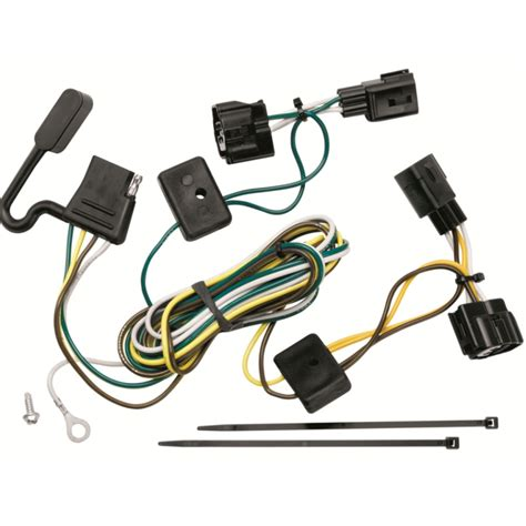 118409 t one trailer hitch wiring harness jeep wrangler